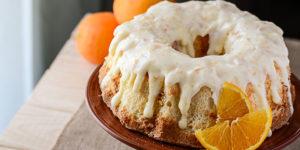This vintage Sunshine Cake Recipe is the perfect spring dessert! Light, fluffy, and full of orange flavor, it's like literally tasting sunshine!
