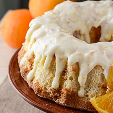 Vintage Sunshine Cake Recipe