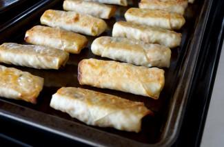 Baked Egg Roll Recipe {Homemade Freezer Meal}