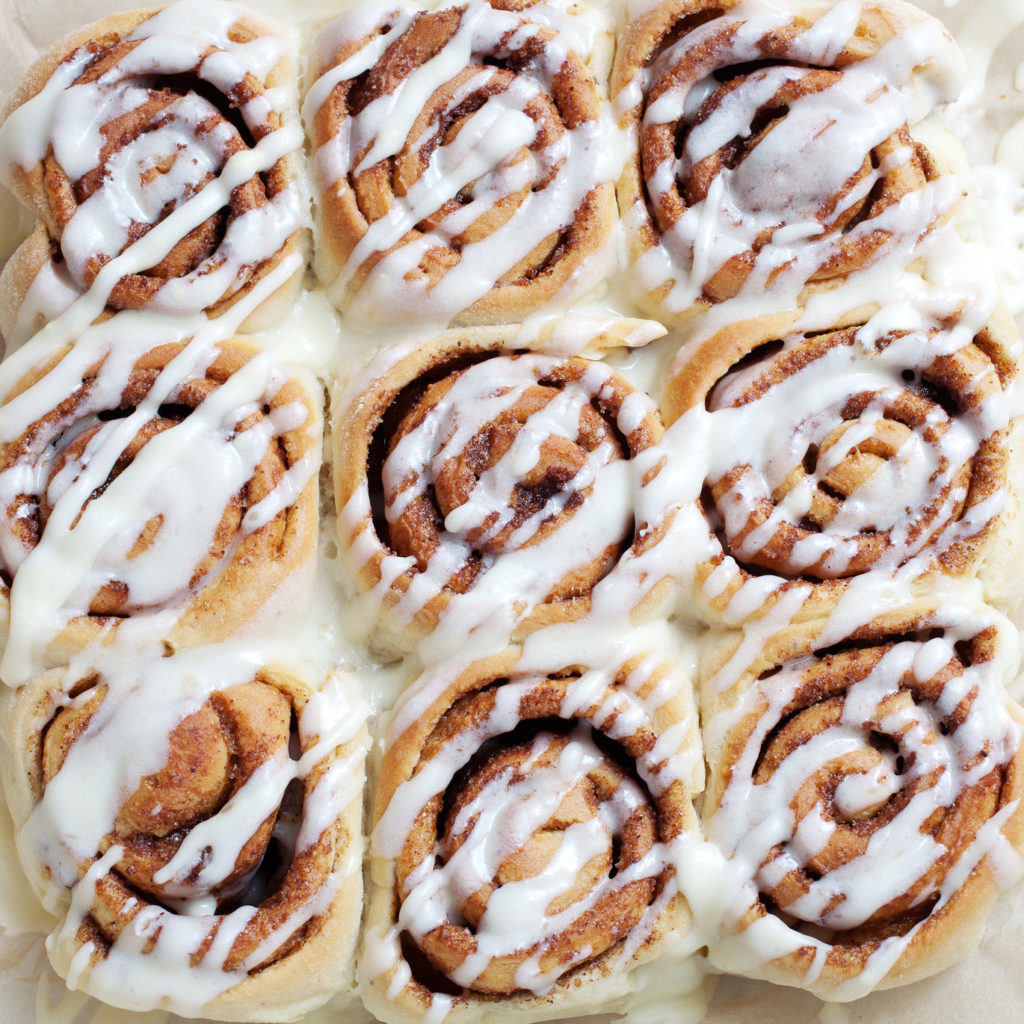 Cinnamon rolls - make ahead and freeze