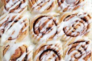 Cinnamon rolls - make ahead and freeze