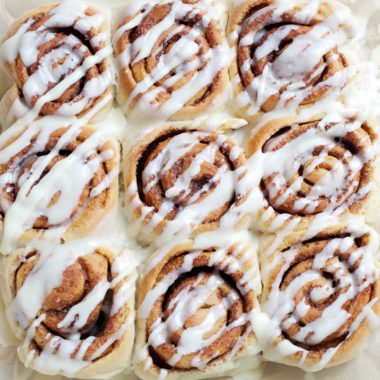 Easy Cinnamon Roll Recipe {Freezer Friendly}