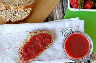 Chia Seed Freezer Strawberry Jam Recipe