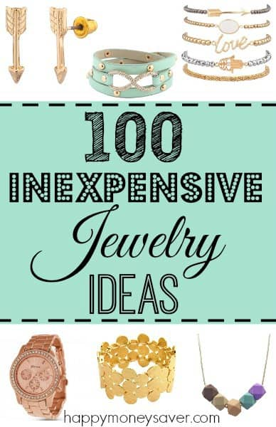 We have found 100 cheap womens jewelry ideas for you. Each piece is less than $10 shipped. Won't break the bank, AND will make you beautiful! |happymoneysaver.com