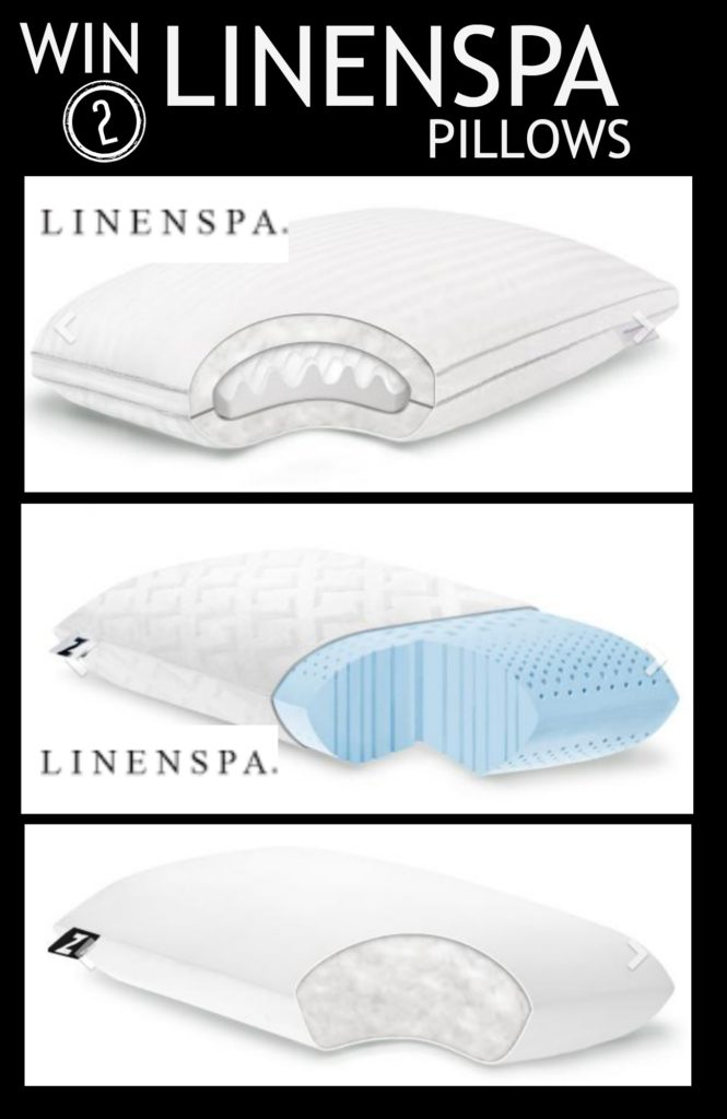 linenspa giveaway  for 2 pillows