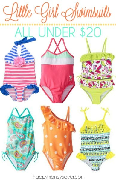 Today we are talking about getting your kids swimming suits on sale. We have found some adorable swimming suits for your little girl that just happen to be very cute and of course, also on sale. happymoneysaver.com