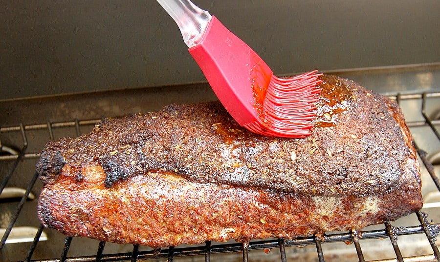 I love happymoneysaver.com for all their tips in saving money, but they have really stepped up their recipe game! This seriously is the best recipe for barbecue brisket and she uses a DIY smoker on the gas grill that she made for 75 cents!