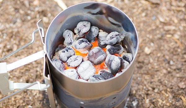 This 5 Layer Dutch Oven Country Breakfast from happymoneysaver.com is one of the very best camping meals. #campingmeals #campingrecipes #dutchoven #camping