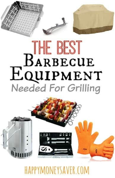 The best barbecue equipment for your summer grilling - happymoneysaver.com