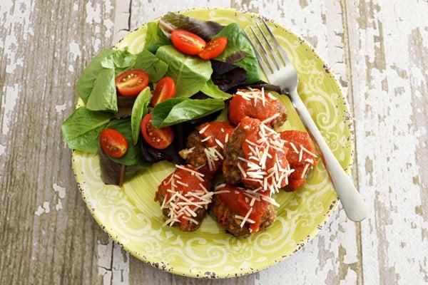 Easy Make Ahead Freezer Meatballs
