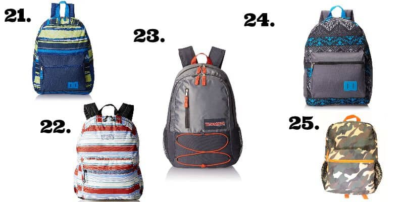 The best backpacks for school- All under $15 shipped! - happymoneysaver.com