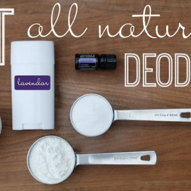 You are going to LOVE this homemade best all natural deodorant - using essential oils!