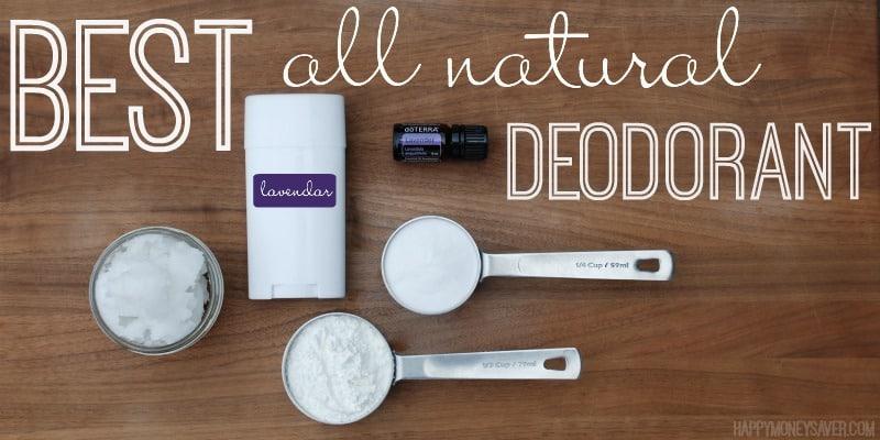 best all natural deodorant