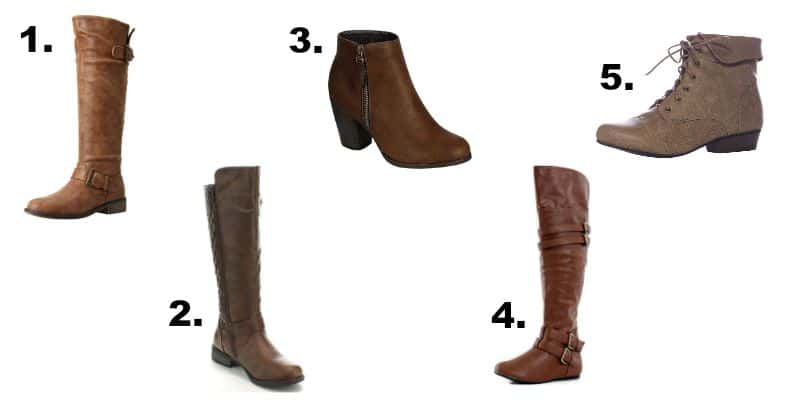 These 15 cute brown boots for women will definitely get you excited for fall. There are a variety of options to choose from all at a great price.- happymoneysaver.com
