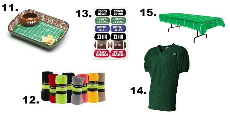 Football season is here and that means you need to get ready. Come check out how you can grab some football fan gear on a budget.