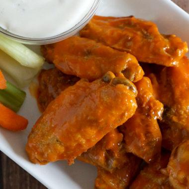 Best Chicken Wing Recipe {Freezer Friendly}