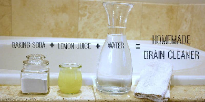 superior Homemade Drano For Kitchen Sink #3: The Best DIY Homemade Drano Recipe- it really works!! happymoneysaver.com