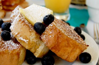 Vanilla Orange Custard Freezer French Toast