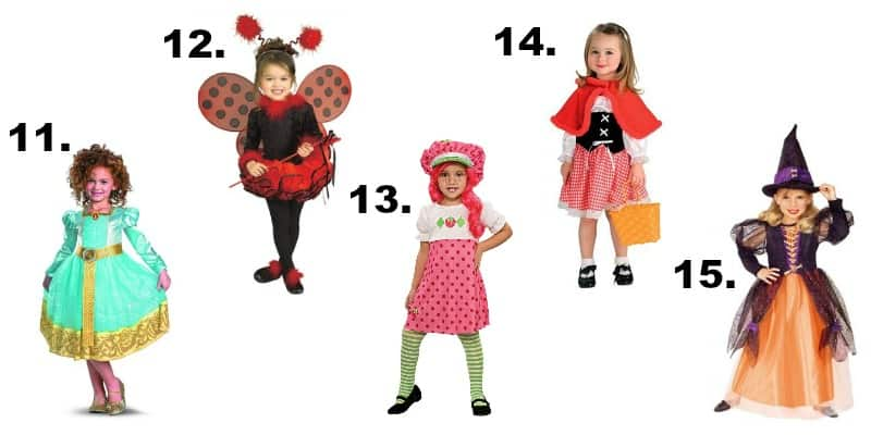 Halloween is around the corner and I'm sure you've been thinking about a costume for your child. Come check out some kids epic Halloween costumes under $15.