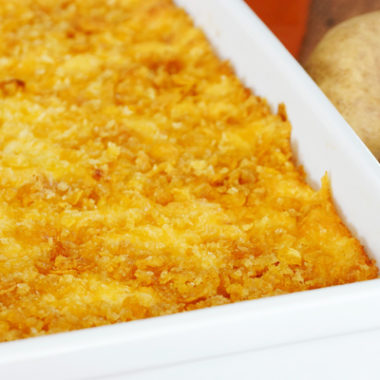 The BEST Freezer Meal Cheesy Potatoes Recipe EVER