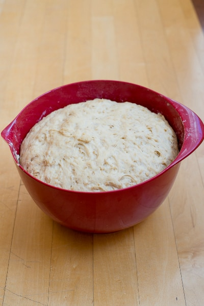 Thicky, hearty, and nothing but down home simple goodness, this oatmeal bread recipe is the best bread I've ever eaten! No exaggeration! Easiest recipe I've ever made too. | happymoneysaver.com