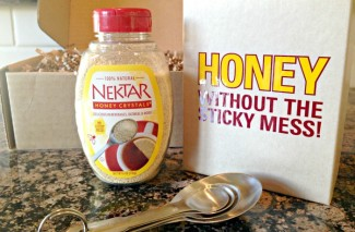 Winner of the Honey Crystals Giveaway PLUS how to get some yourselves…