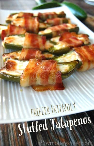 This is a new twist on an old classic! I love that I can make a huge batch of these and freeze them for when I need last minute party food! - happymoneysaver.com