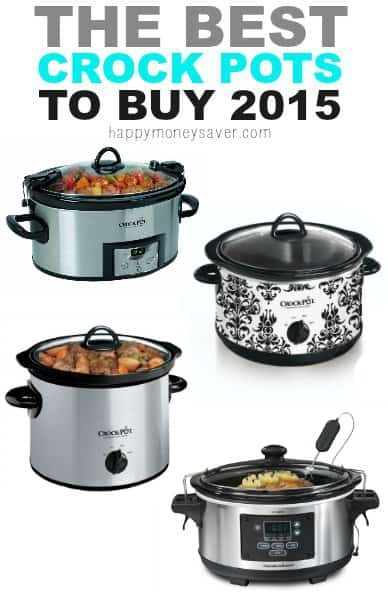 Are you looking for a new crock pot? Here you can find 10 of the best crock pots for your needs that will also fit your budget.- happymoneysaver.com