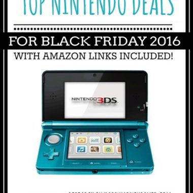 Top Nintendo and Wii Deals for Black Friday 2016