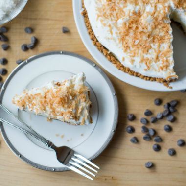 Decadent Chocolate Coconut Pie