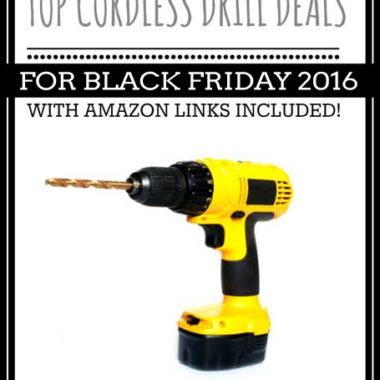 Top Power Tool Deals for Black Friday 2016