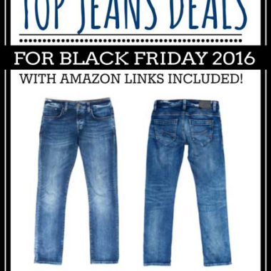 Top Jeans Deals for Black Friday 2016
