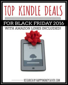 Top Kindle Deals for Black Friday 2016