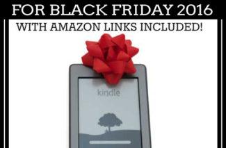 Top Kindle Deals for Black Friday 2016