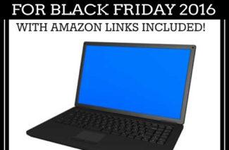 Top Laptop Deals for Black Friday 2016