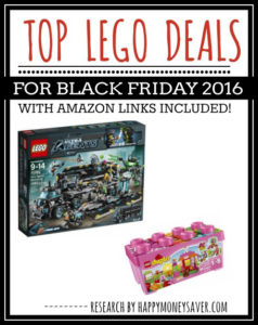 Here is a round up of all the top Lego Deals Black Friday 2016 - sure to make any parent thrilled to save money!