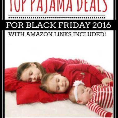Top PAJAMA Deals for Black Friday 2016