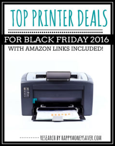 Top Printer Deals for Black Friday 2016