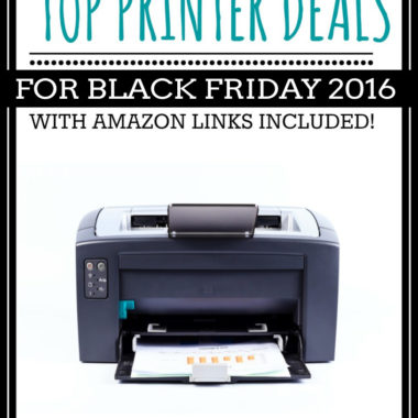 Top Printer Deals for Black Friday 2016