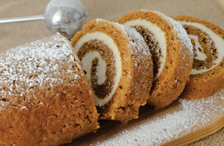 Easy Pumpkin Roll Recipe | happymoneysaver.com