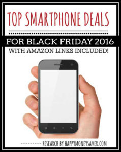 Top IPhone 6 and Android Smartphone Deals Black Friday 2016