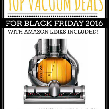 Top Vacuum Deals for Black Friday 2016