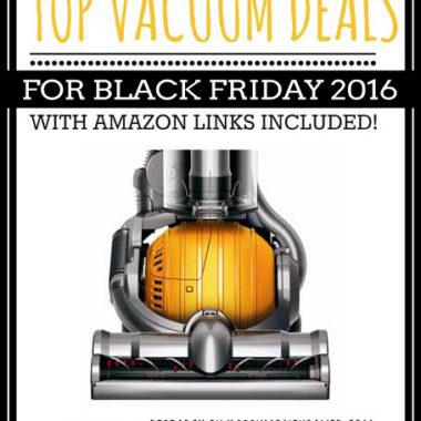 Top Vacuum Deals for Black Friday 2016