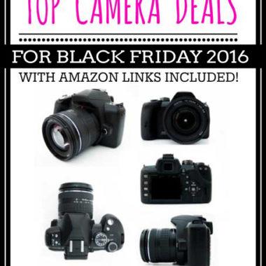 Top Camera Deals for Black Friday 2016
