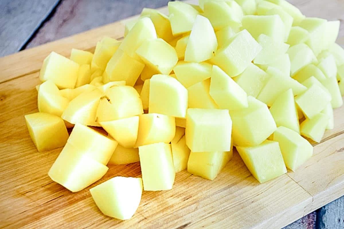 make ahead mashed potatoes diced raw potatoes