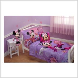 Lovely Get this Disney Piece Minnie us Fluttery Friends Toddler Bedding Set Lavender for only was Amazon Prime members will get free shipping