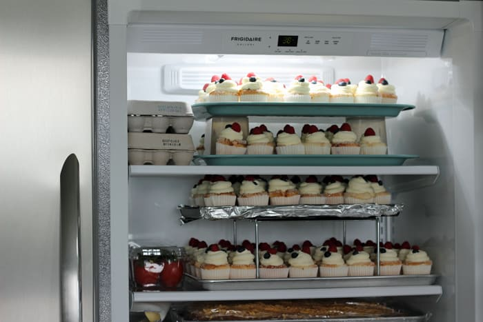 Frigidaire Gallery All Refrigerator - holds tons of food and saves so much time!