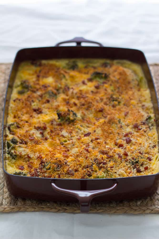 Cheesy Broccoli Potato Bake Freezer Meal - I've made this many times and its really delicious!