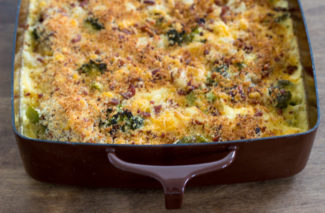 Cheesy Broccoli Potato Bake Freezer Meal