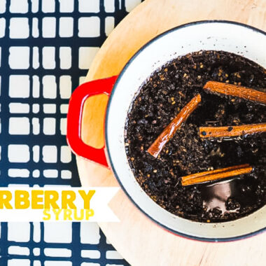 Elderberry Syrup recipe to fight Colds, Flu & Viruses